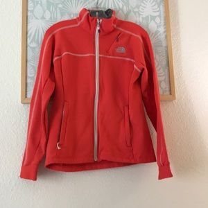 The North Face orange jacket Medium